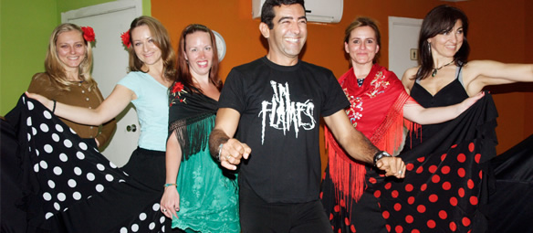 spanish and flamenco in spain