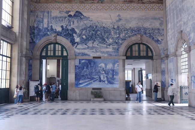 estacion de tren oporto